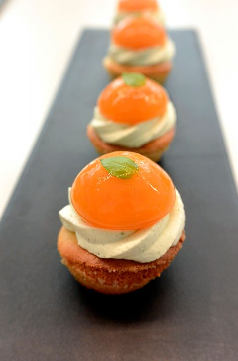 Christophe Michalak : Mini tartelette abricot recette