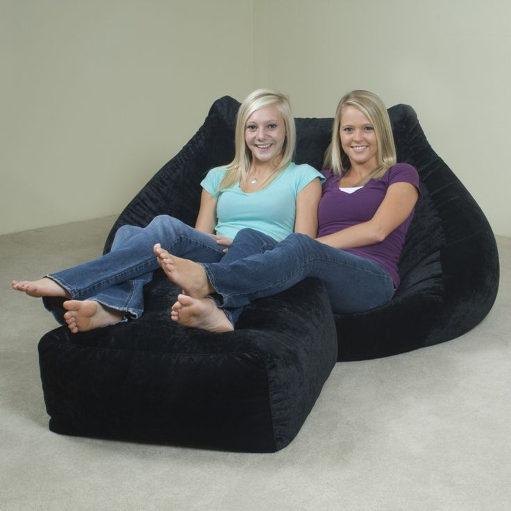 AttentionGrabbing Adult Size Bean Bag Chair Household Furniture On Home Decoration Idea From