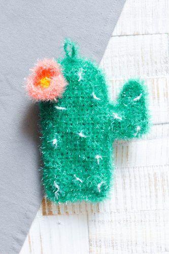 Kaktusschwamm Schwämme Häkeln Häkeln Ideen Und Häkeln Anleitung