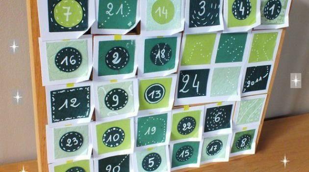 Faire soi-même un calendrier de l'Avent Récup avec un casier en ...