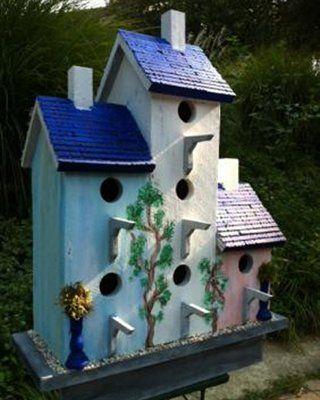 Wilderness Series WSBH186 Tropical Condo Bird House