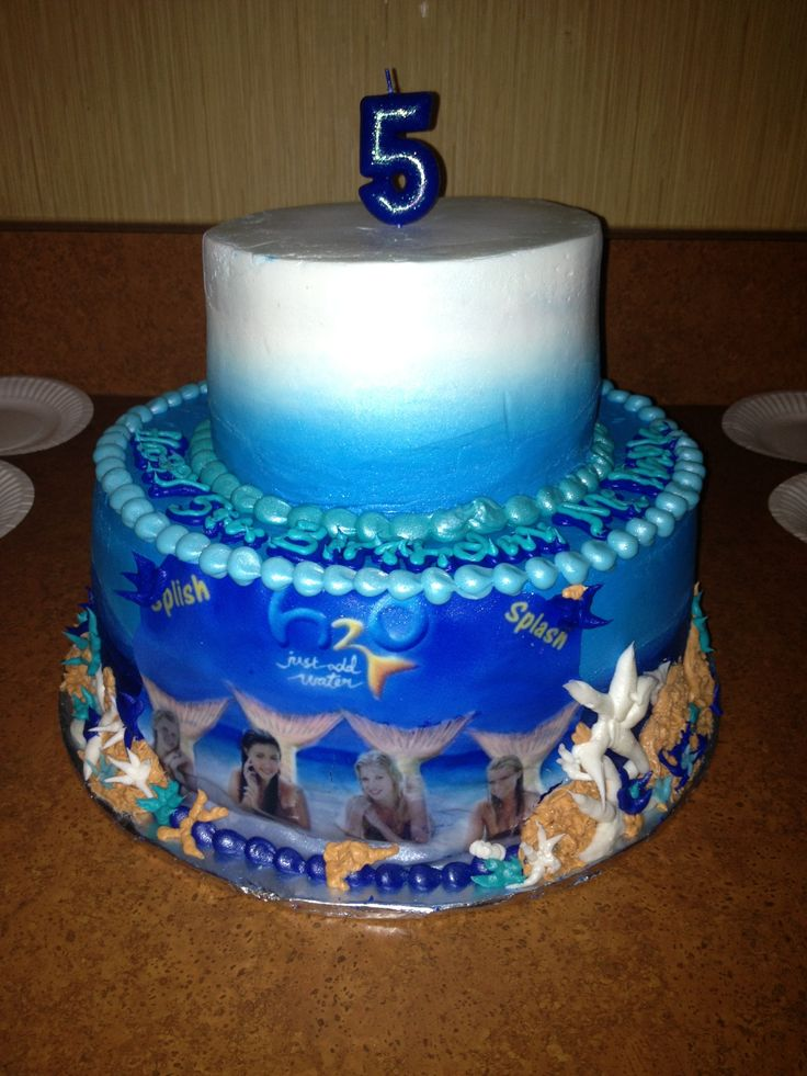 Amazing 16th Birthday Cakes H20 just add water bir...