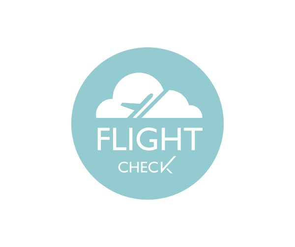 Flight Check logo  by Caitlin Workman