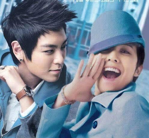 G-Dragon and TOP ♡ #BIGBANG #GTOP #GDTOP