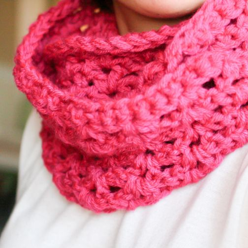 End of Winter Double Strand Infinity Scarf « The Yarn Box