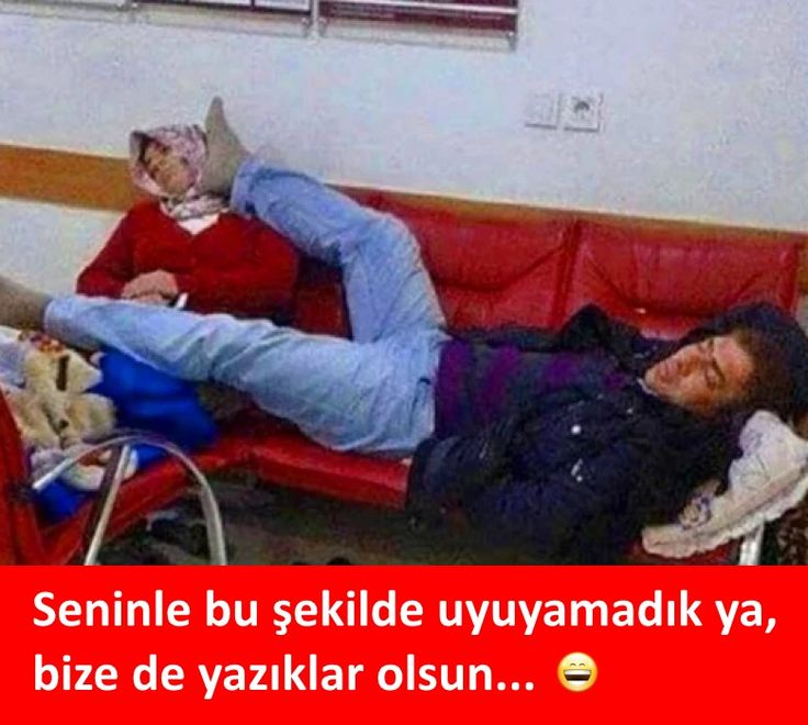 Seninle bu şekilde uyuyamadık ya, bize de yazıklar olsun... :)  #mizah #matrak #komik #espri #şaka #gırgır #komiksözler #caps