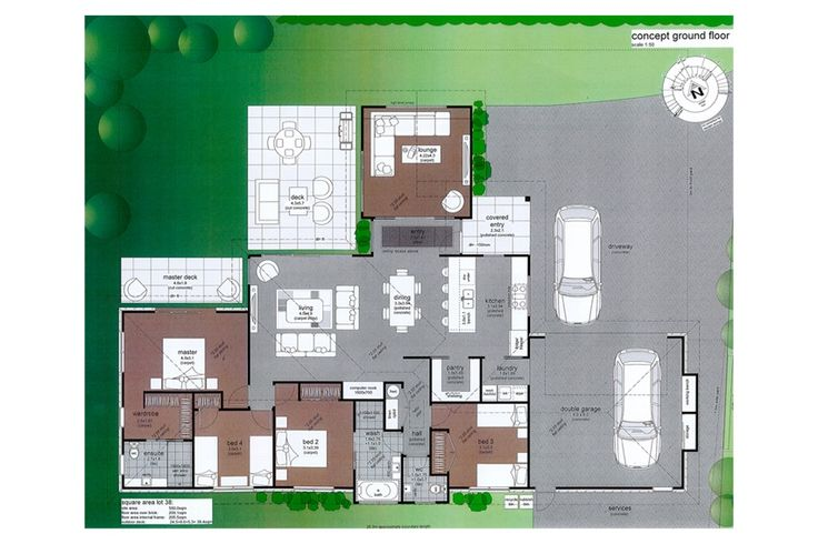 the grange lot 2 209m2 plan