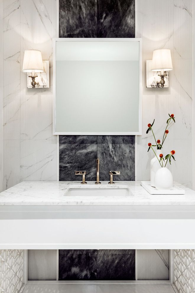 59 best Powder rooms images on Pinterest | Bathroom ...