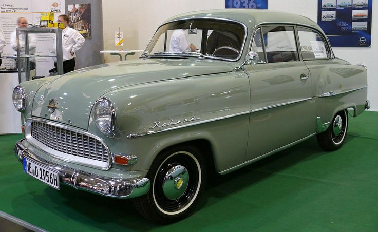 1956 Opel Record Coupe