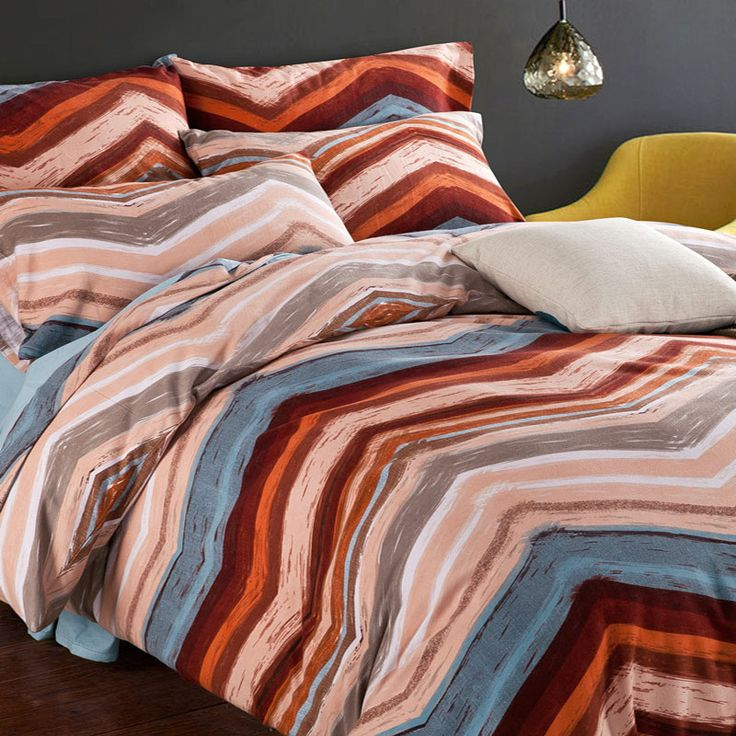 Find More Bedding Sets Information about Beach Coast 100% Brushed Egyptian Cotton King Queen Size Bedding Set  Western Style New Home Bed Sets Duvet Cover Bed sheet 4pcs,High Quality sheet scanner,China sheets adjustable beds Suppliers, Cheap sheet linen from E-COSYLIFE AESTHETIC HOME TEXTILE on Aliexpress.com