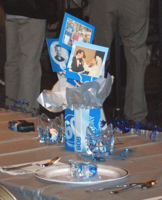 Birthday party ideas for men centef pices the was