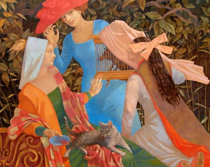 Olga Oreshnikova 1962 - Russian Fantasy painter
