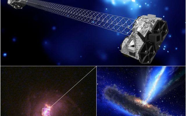 Cinque buchi neri supermassicci nascosti da polveri e gas trovati dal telescopio spaziale NuSTAR Al National Astronomy Meeting (NAM2015) della Royal Astronomical Society, al centro Venue Cymru di Llandudno, in Galles, sono state presentate le prove della scoperta di buchi neri supermassicci. #galassie #buchineri