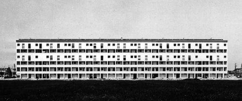 Piero Bottoni - Quartiere INA Casa via Dessie, Mailand