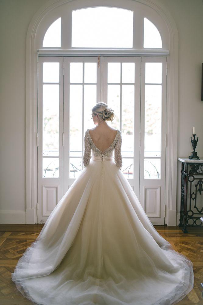 'Electra' ball gown bridal dress by Ronald Joyce & Victoria Lane