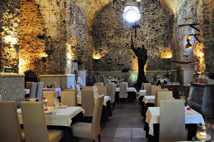 Sa Capella Restaurant hidden in a historic building #ibiza http://www.bonderco.com/ibiza