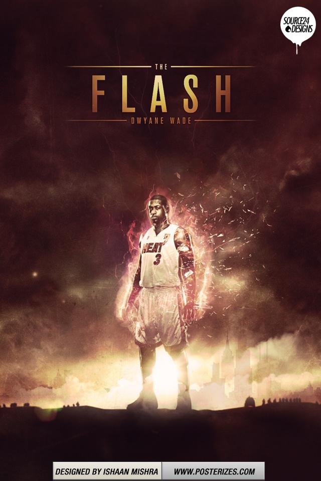 NBA Dwayne Wade Iphone/Ipod Wallpaper