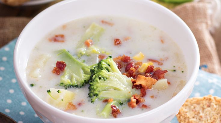 Slow Cooker Smashed Potato Soup - GREAT Soup!  www.getcrocked.com