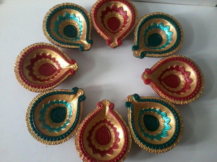 1000 Ideas About Diwali Diya On Pinterest Diwali
