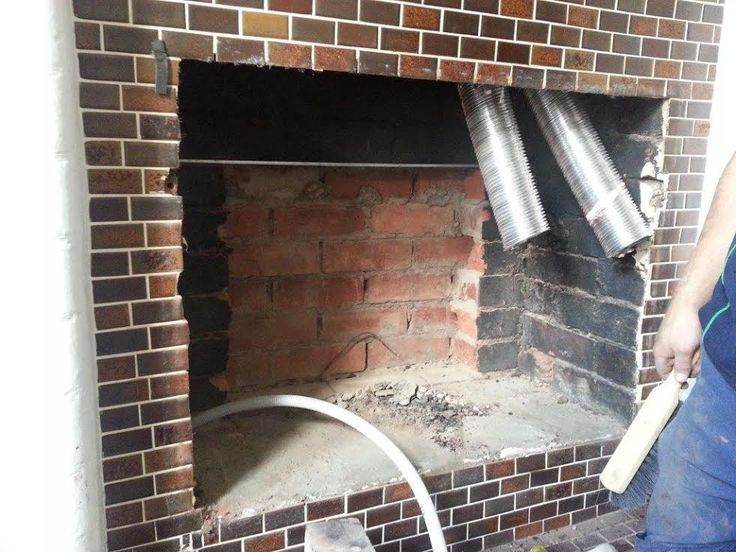 Progress shots of a recent installation project completed by The Gas Log Fire Company  Stage 1 of the installation of a Jetmaster Heat n Glo I-30 Supreme gas log fire in Fitzroy, Melbourne, Vic. The owners selected a Df Front and black 4 sided trim.