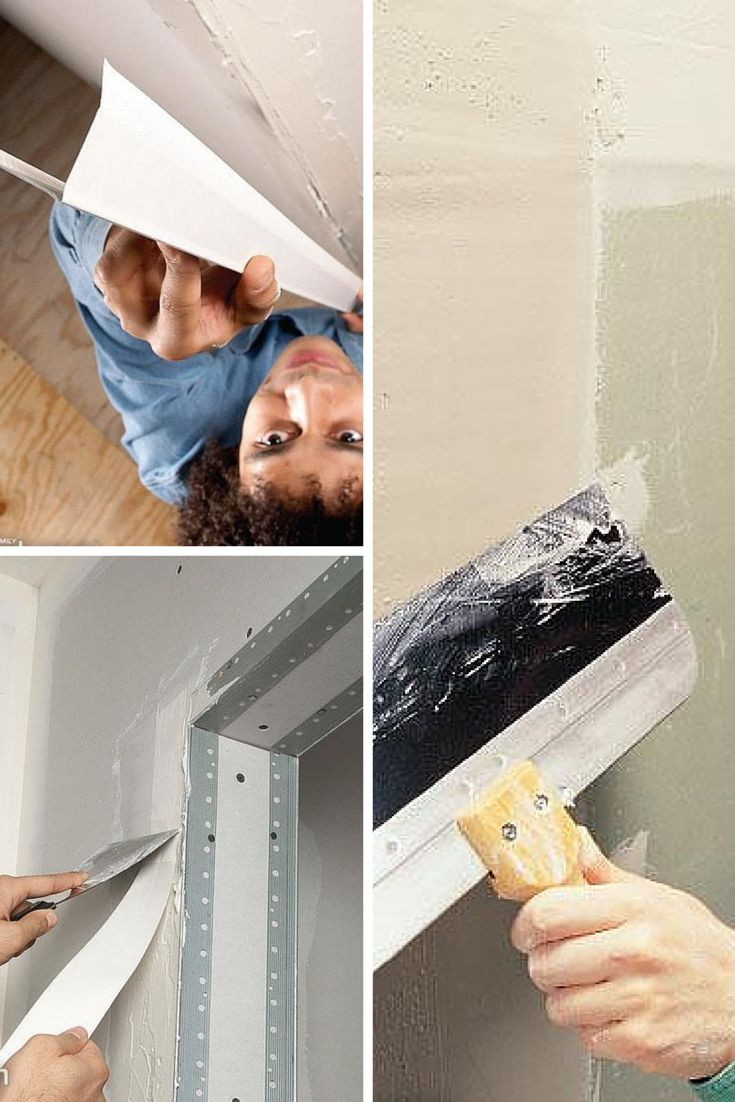 Drywall Taping Repair Tips Pinterest Tape And
