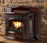 Pellet Fireplace Inserts | Harman Stoves - like the look of this one.  Put it in the fireplace, but what kind of mantel?