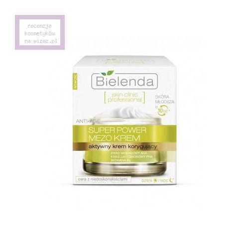 Bielenda, Skin Clinic Professional, Super Power Mezo, Aktywny krem korygujący anti-age do cery mieszanej i tłustej, z niedoskonałościami