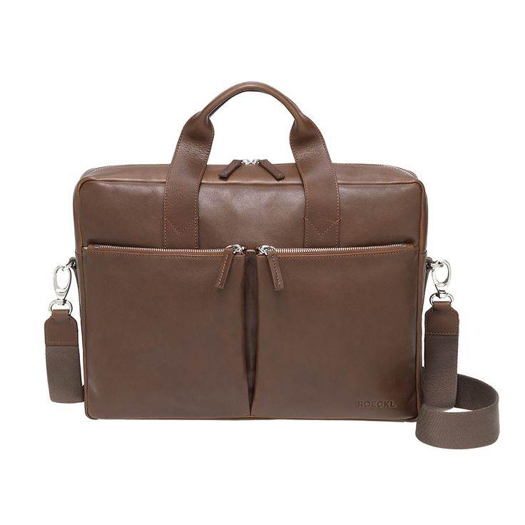 ROECKL – Business Leather Notebook Bag | Heldth