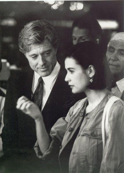 "Robert Redford & Demi Moore in ""Indecent Proposal"""