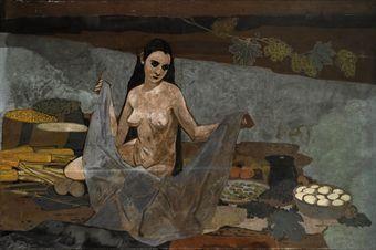 CERERE. I By Felice Casorati, tempera on canvas Creation, 1933, 135x203cm