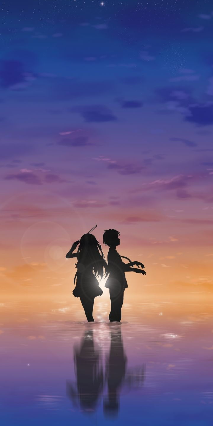 Download This Wallpaper Anime Your Lie In April 720x1440 For All Your Phones And Tablets In 2020 Your Lie In April Anime Scenery Anime Life