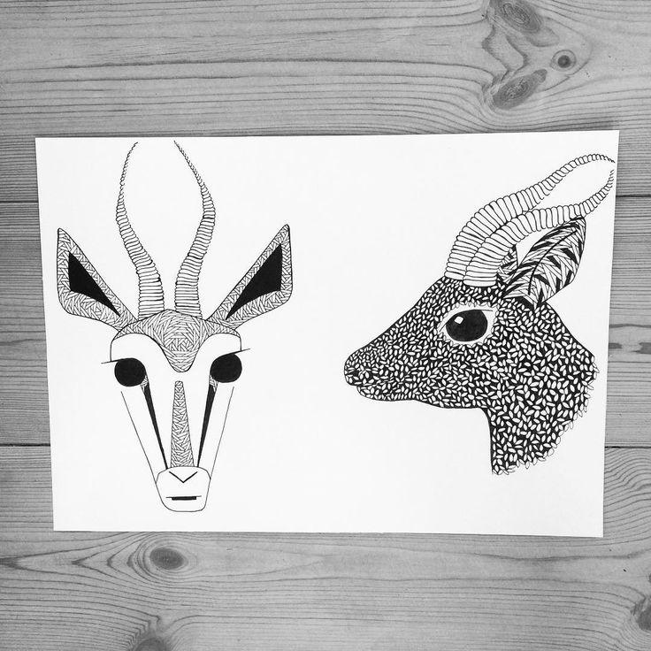 https://www.instagram.com/simonestubgaard/ my weekends are all about the art✍ #art #drawing #pendrawing #patterns #personalart #tattooart #soontobe #gazelle #inspired #weekends #dedicated #to #the #future #art #artist #simonestubgaard