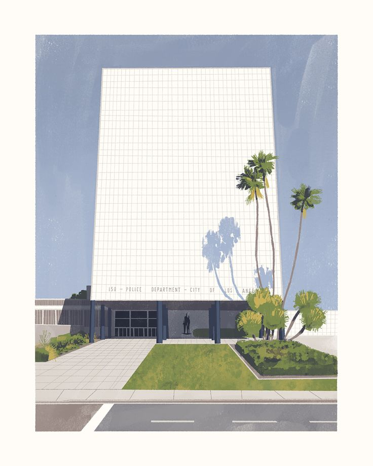 PARKER CENTERDesigned by Welton Becket in 1952.Prints are available through Gallery Nucleus.