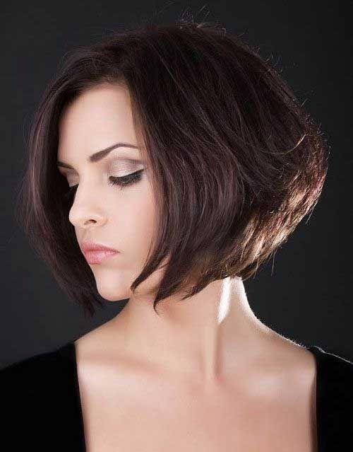 20 Best Short Brown Haircuts | http://www.short-haircut.com/20-best-short-brown-haircuts.html