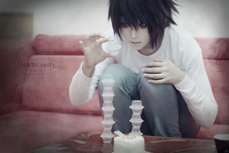 ☆ #CosplayStyle☆ Arthur(妖一) L Cosplay from Death Note