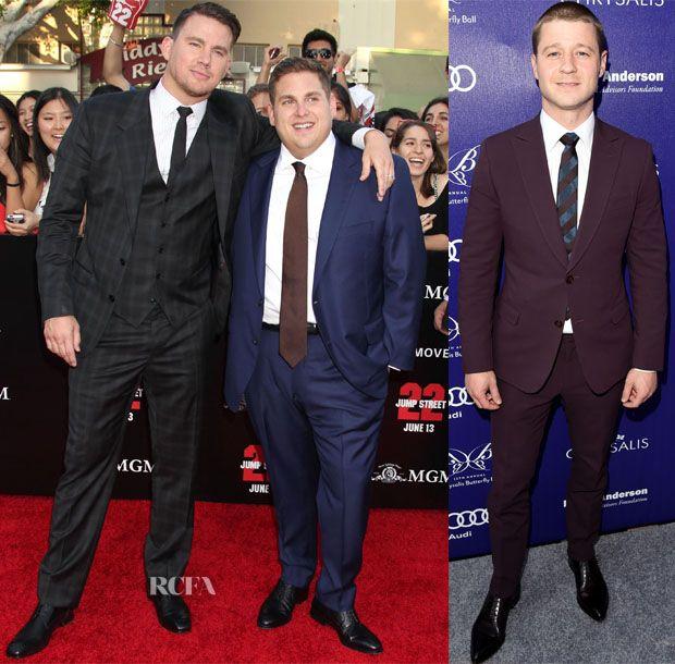 Channing Tatum en Dolce & Gabana Jonah Hil et Ben McKenzie