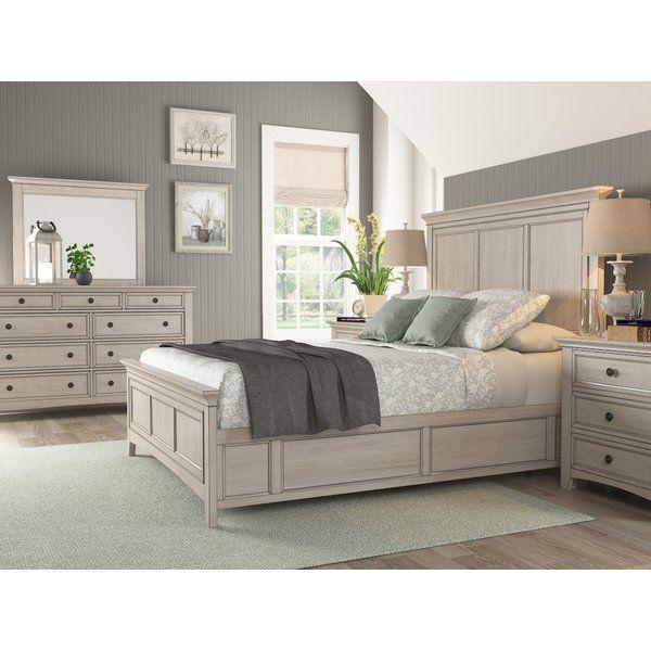 Joplin Queen Standard Configurable Bedroom Set Bed Furniture