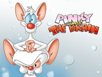 Pinky and the Brain. One of best cartoons of the late 90s!