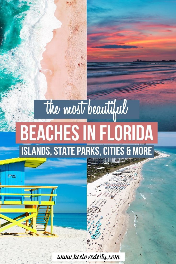 Best Beaches In Florida From Miami Beach To States Parks Beeloved City Best Beach In Florida Florida Travel Florida Beaches