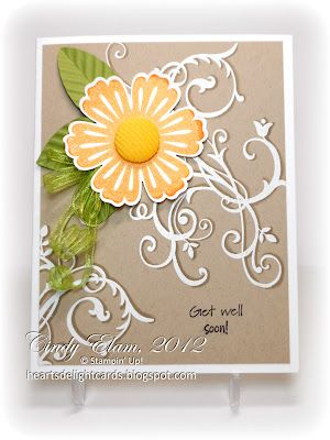 4/12/2012; Cindy at '~~Heart's Delight Cards~~' blog using SU products; Baroque Motifs