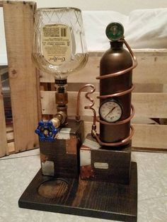 Liquor Dispenser Steampunk Moonshine Still Style