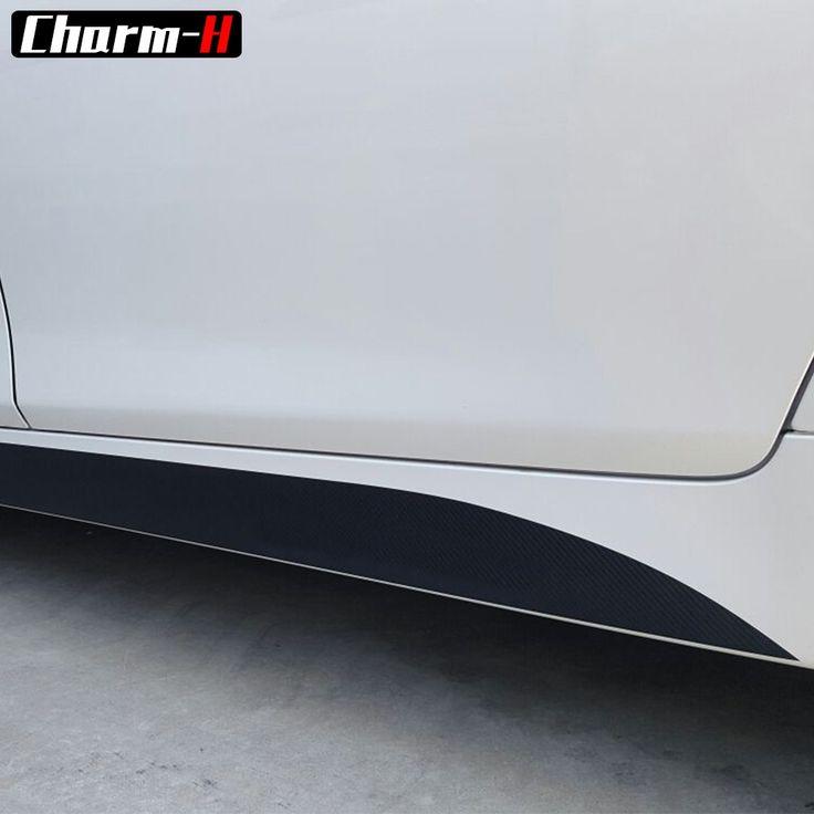 Cheap price US $18.50  Matte/Gloss/5D Black New M Performance Side Skirt Matte Sticker Decal For BMW 3 series F30 316i 320i 328i 335i 2013-2015