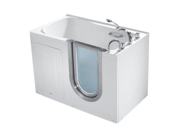 1000 id es sur le th me baignoire a porte sur pinterest for Porte vitree pour baignoire