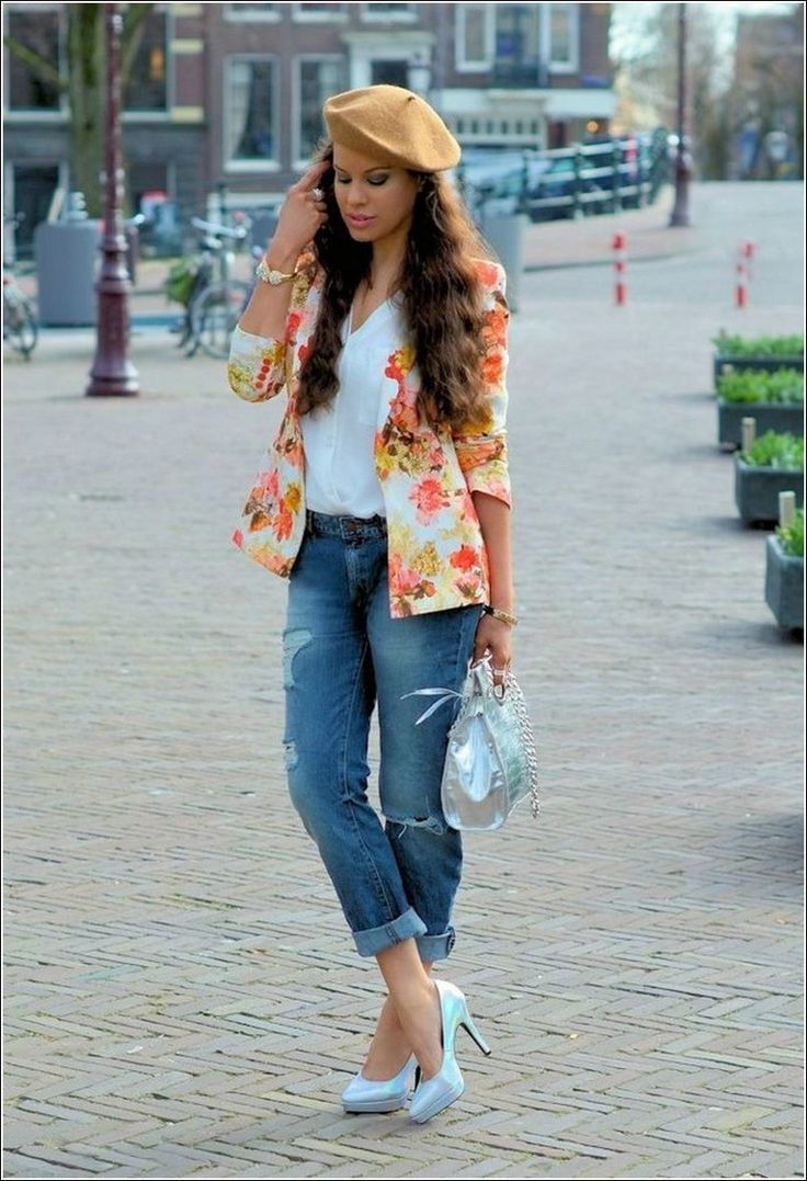 How to Appear Stylish with Boyfriend Jeans | World Life Fashion