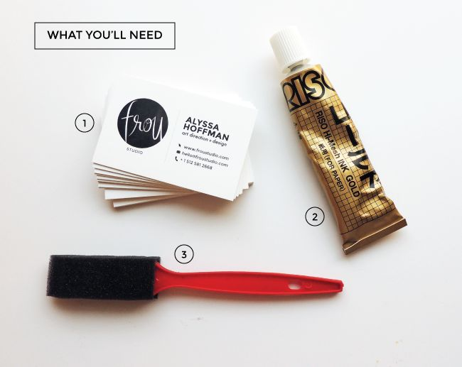 67 best crafts diy images on pinterest visit cards business edge painted business cards are happening just ordered riso print gocco ink reheart Choice Image