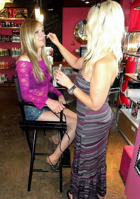 from Lucca tranny beauty salon video