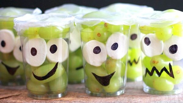 Make Them Smile With This Monster Fruit Cup Recipe! - thegoodstuff