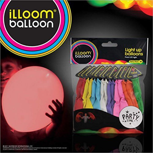 1 X illooms LED Light up Balloons 15 Mixed color Party Pack Illoom Balloon http://www.amazon.com/dp/B0041CNDKW/ref=cm_sw_r_pi_dp_2-mkwb01R2G8X