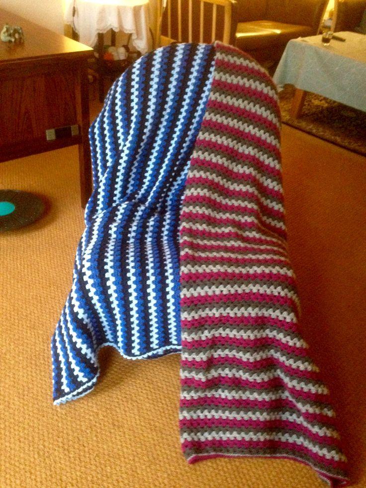 Færdig med tæpper til julegaver
