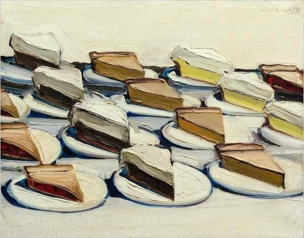 Уэйн Тибо_wayne_thiebaud_пироги 1961 эст 3,5 млн длл